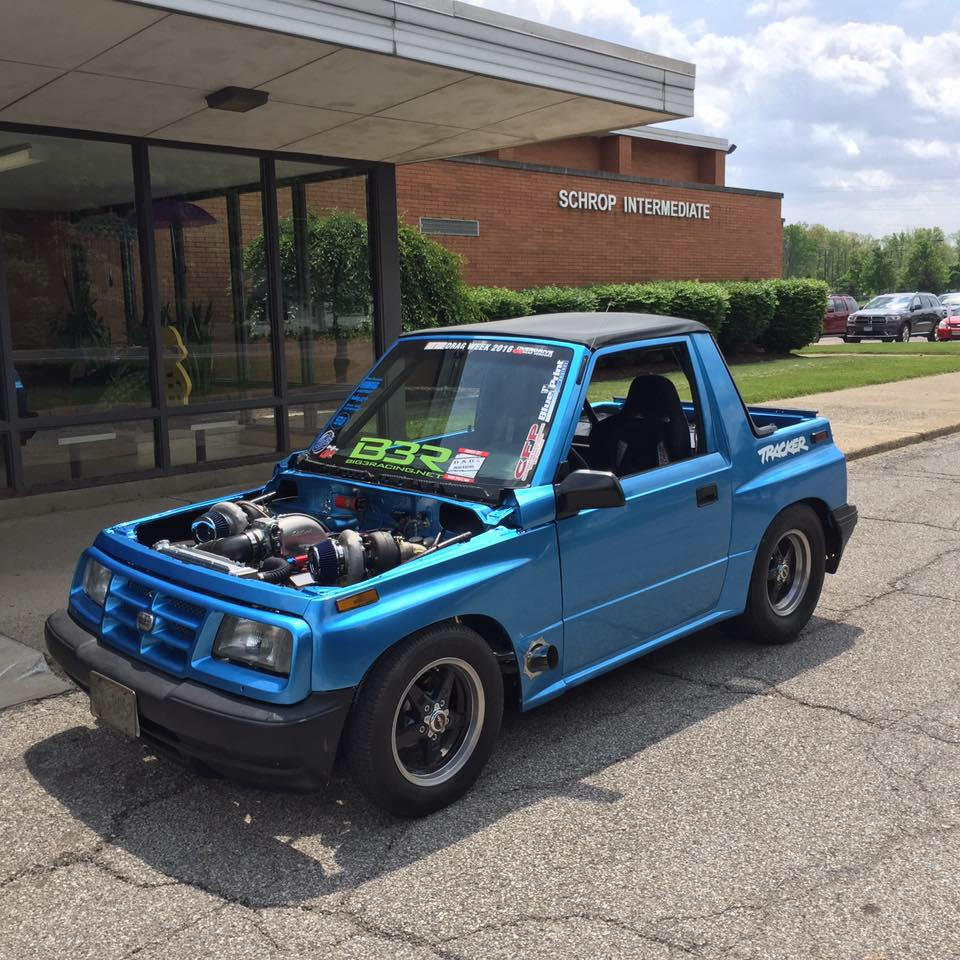 Geo Tracker With A Twin Turbo V on 1995 Geo Tracker Automatic Transmission