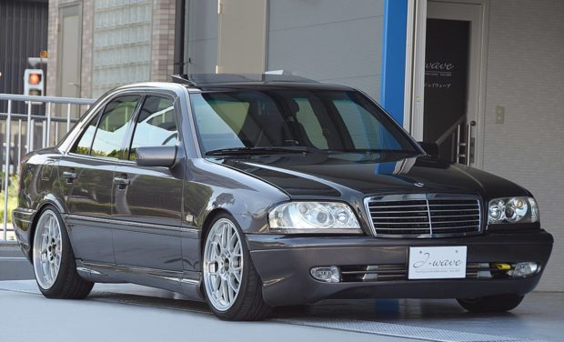 1995 Mercedes C200 W202 with a Turbo F20C inline-four