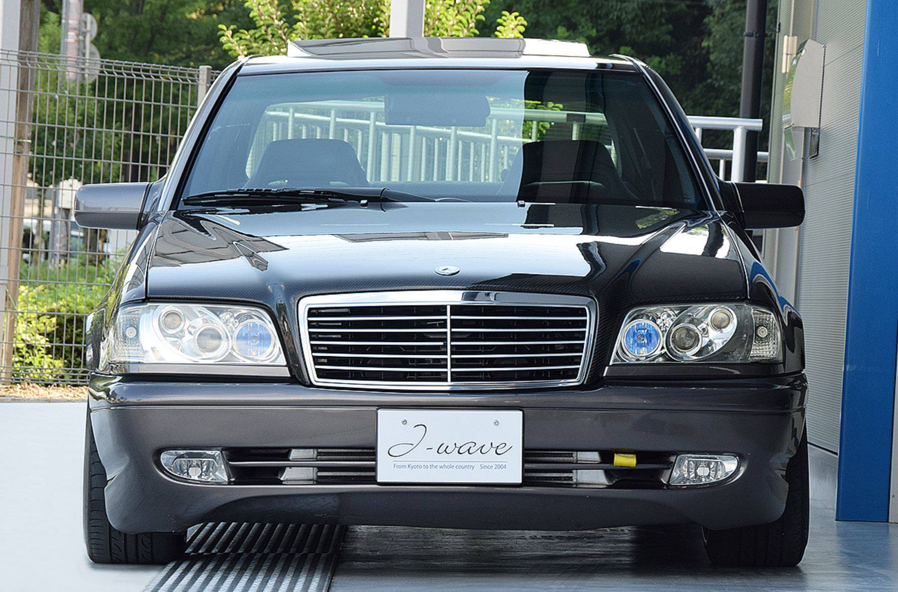 1995 Mercedes C200 with a Turbo Honda Inline-Four – Engine