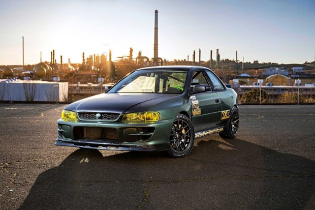 1995 Subaru Impreza with a Ford 302 V8