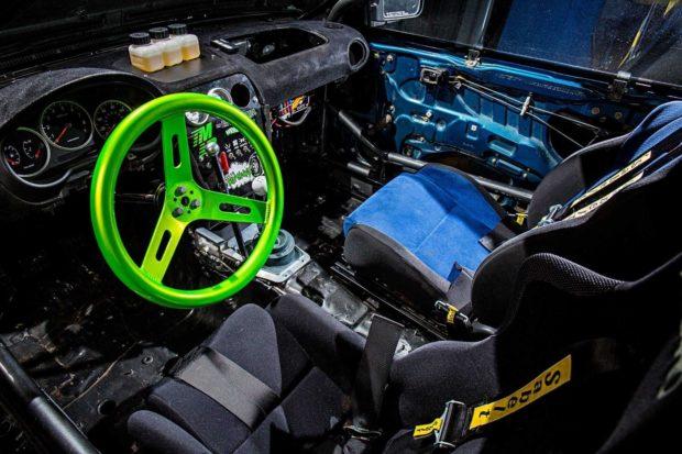 1995 Subaru Impreza with a Ford 302 V8