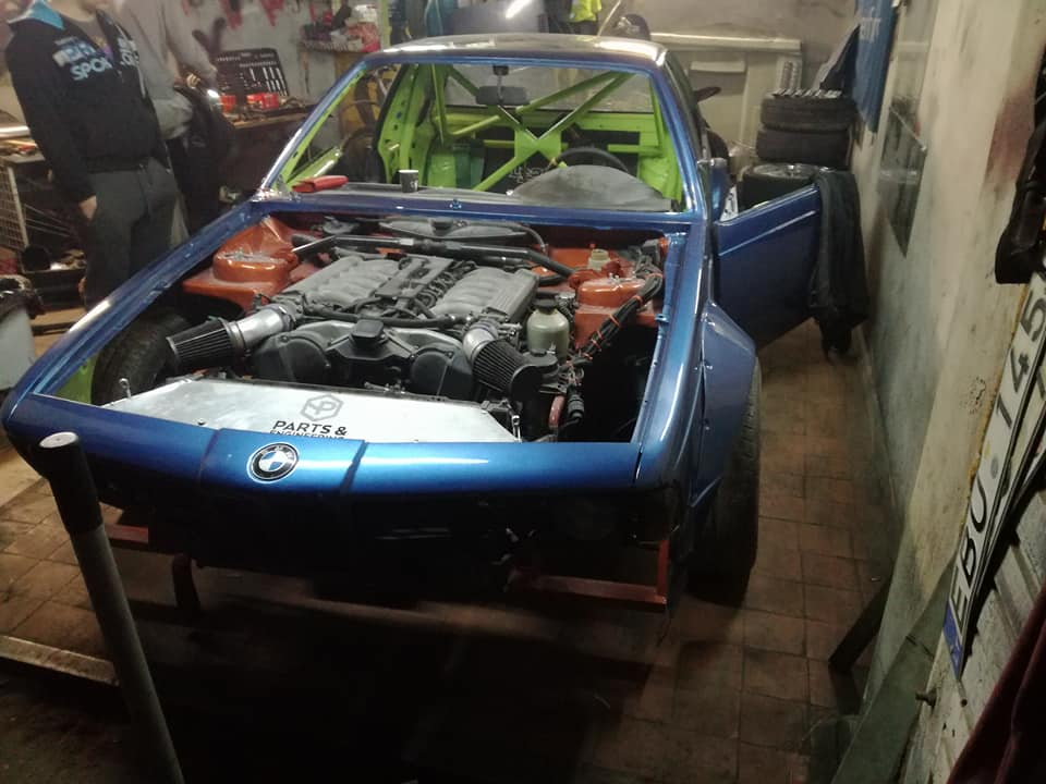 For Sale Bmw E24 With A V12 Engine Swap Depot