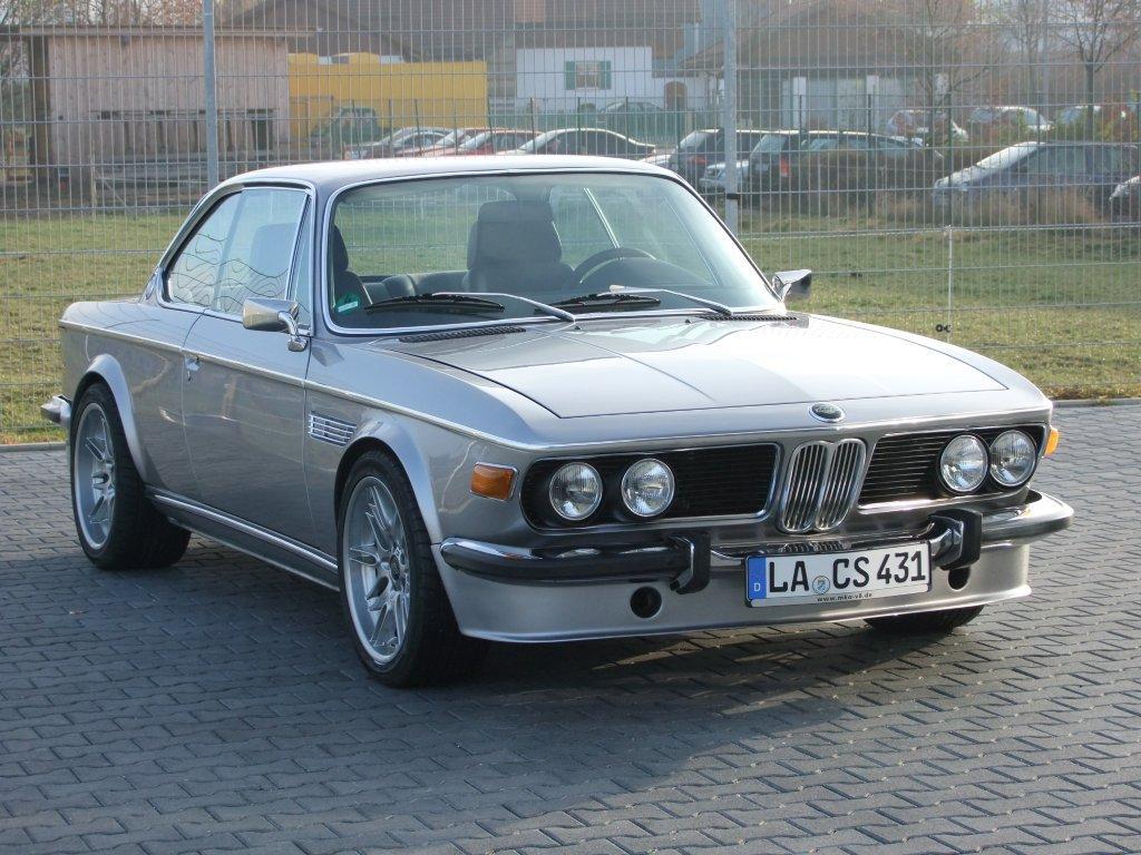 BMW E9 with a S62 V8 and M5 drivetrain