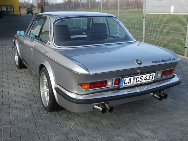 BMW E9 with a S62 V8 and M5 drivetrain
