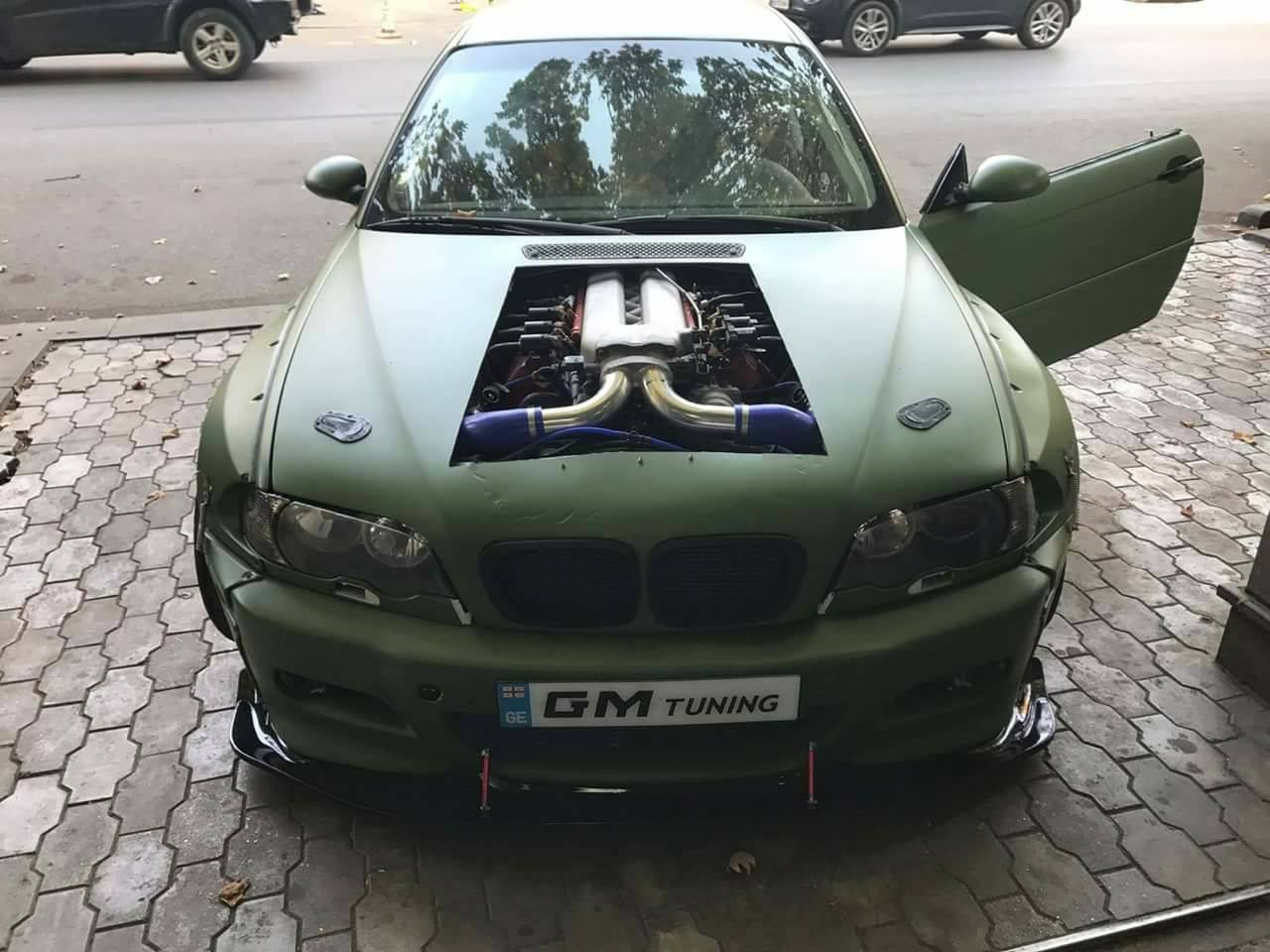 bmw m3 e46 with a viper v10 engine swap depot. Black Bedroom Furniture Sets. Home Design Ideas