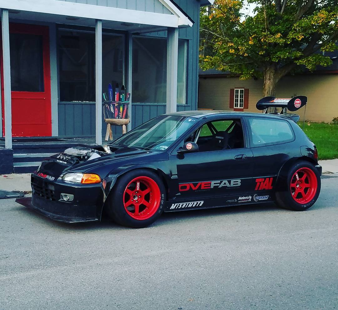 1993 Civic with a Turbo V6 – Engine Swap Depot