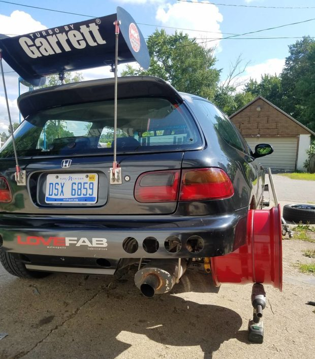 Small Hatchback Turbo Cars: 1993 Civic With A Turbo V6