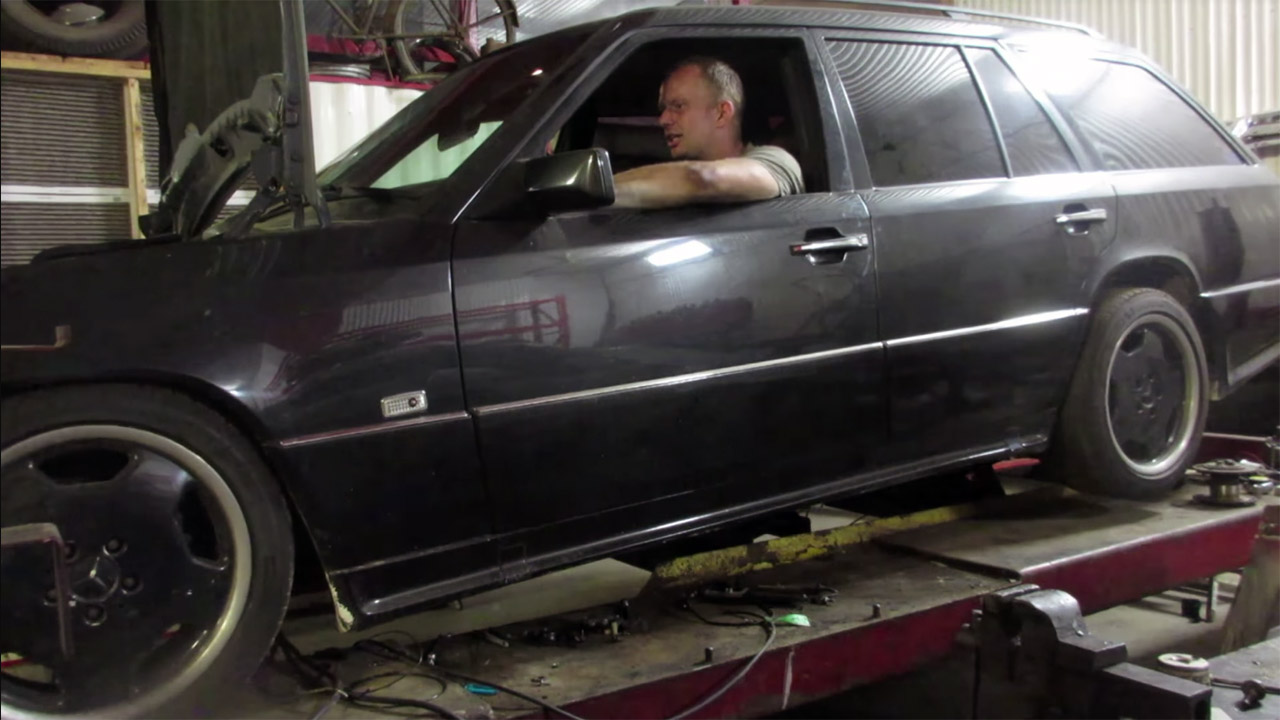1994 Mercedes Wagon With A Turbo Lsx Part 10 Engine Swap Depot W124 Wiring Harness Number Deboss Garage Released Another Episode Of Their E320 Project If You Are Unfamiliar The Owner Wanted 32 L