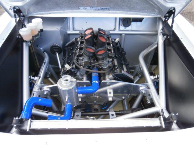 Escort Rsr With A Hayabusa V8  U2013 Engine Swap Depot