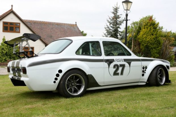 Escort RSR with a Radical 2.8 L V8