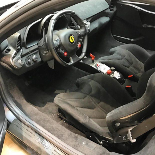 Ferrari 458 with a LaFerrari V12