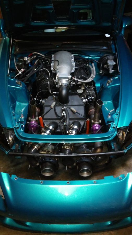 Honda S2000 with a twin-turbo J32 V6