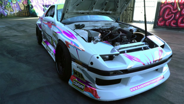 Mazda RX-7 with a RB25DET Inline-Six