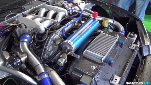 Nissan 200SX with a 3.8 L VR38DETT V6