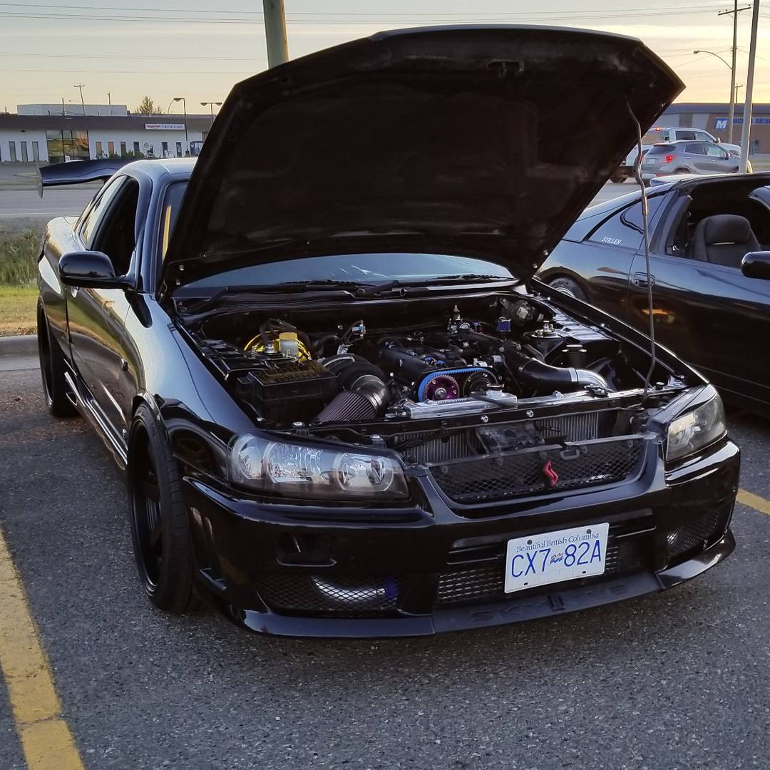Swapping A 2jz Into Nissan R34 Video Series Engine Swap Depot 300zx Twin Turbo Wiring Diagram He Is Still Using The Factory Six Speed Thanks To Five Bellhousing And Adapter Plate Follow Along As Documents Ups