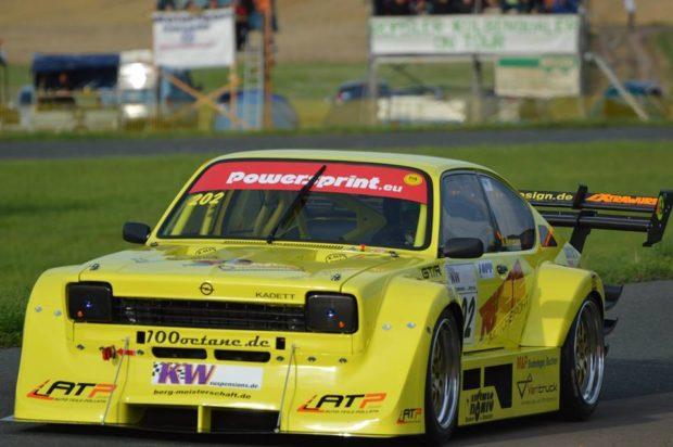 Opel Kadett with a LT-5 V8