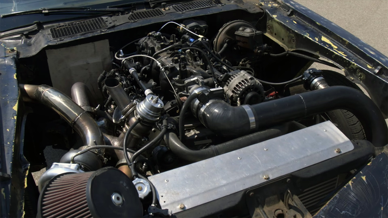 Project Bonemaro 1979 Camaro with a turbo LM7 V8