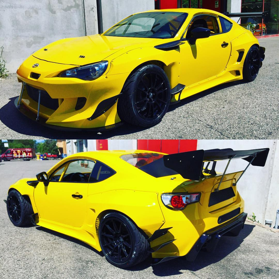 Toyota Gt86 With A 2jz