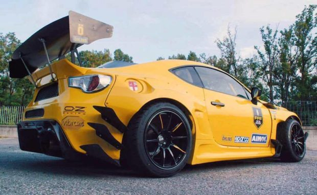 Toyota GT86 with a Turbo 2JZ inline-six