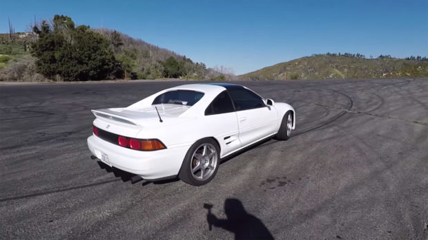 Toyota MR2 with a Supercharged V6