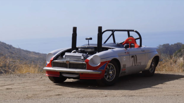 1964 MGB with a Ford 5.0 L V8