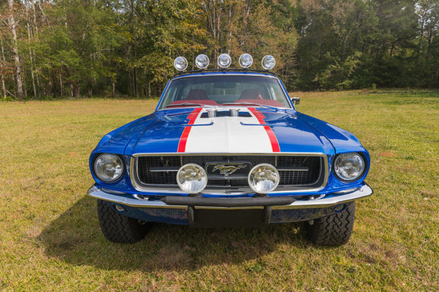 1967 Ford Mustang with a 427 ci V8