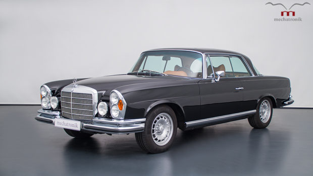 1970 Mercedes W111 with a 5.5 L V8 AMG Powertrain