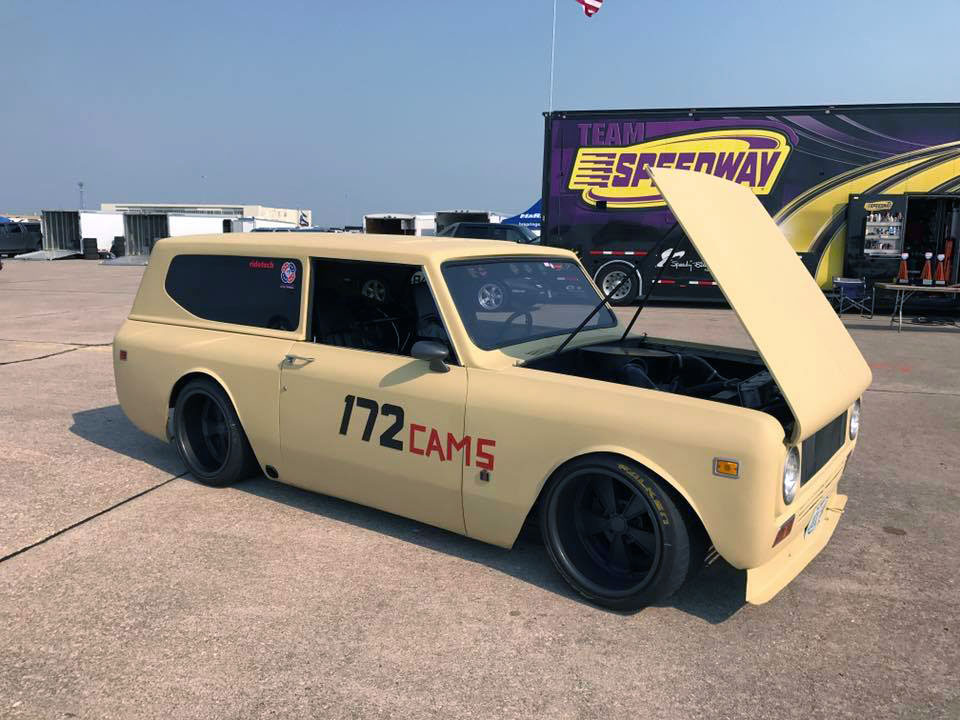 1972 International Scout II with a Chevy V8 and S10 Chassis – Engine ...