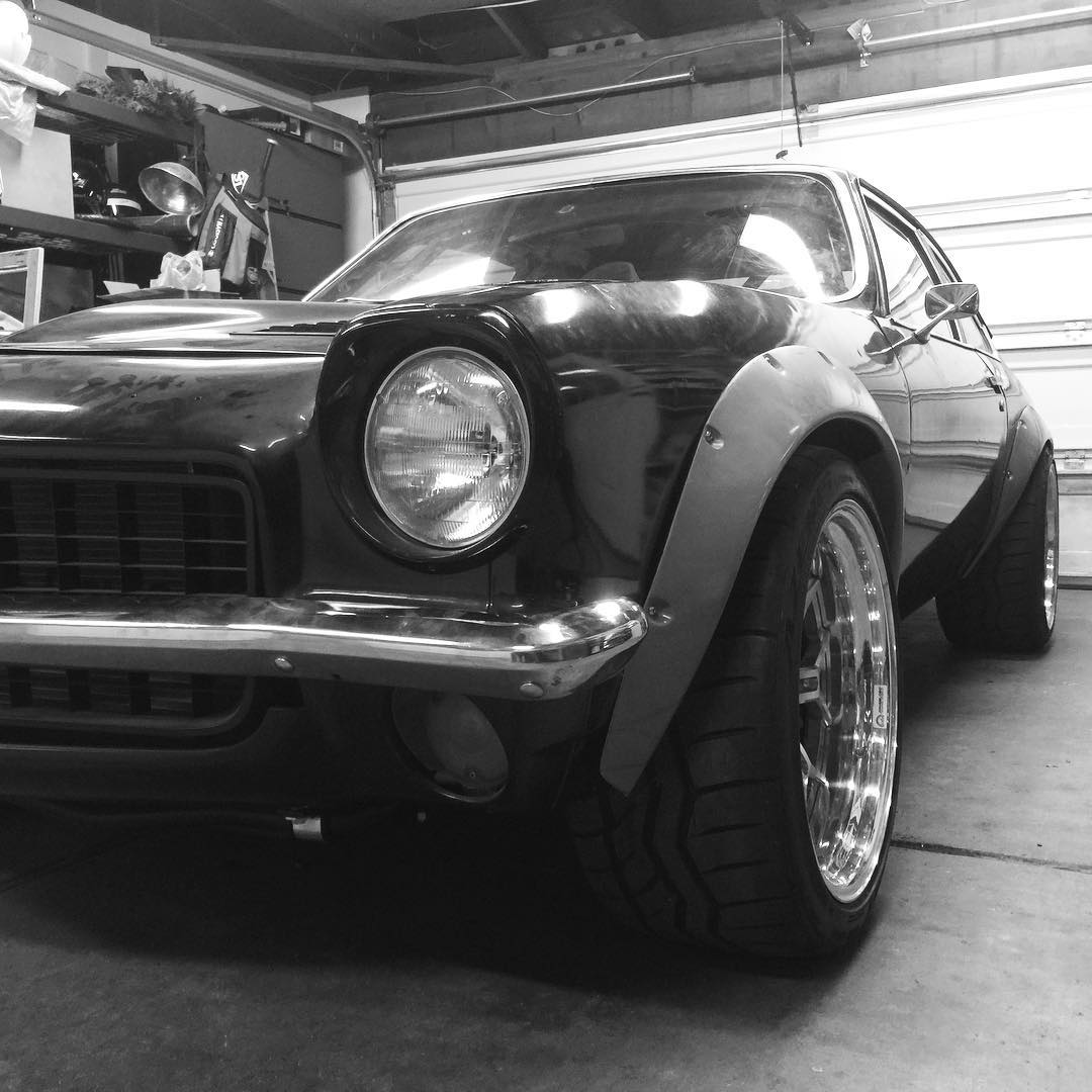 1973 Vega With A Turbo Inline Four Engine Swap Depot