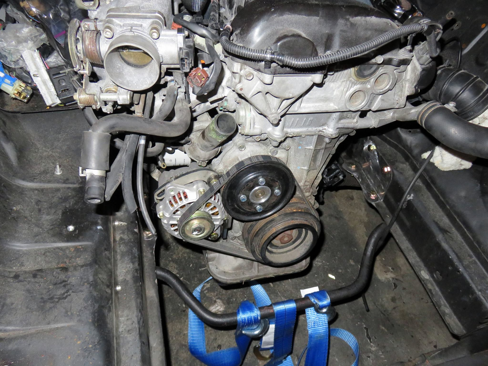 1978 Mustang with a Nissan Turbo Inline-Four – Engine Swap Depot