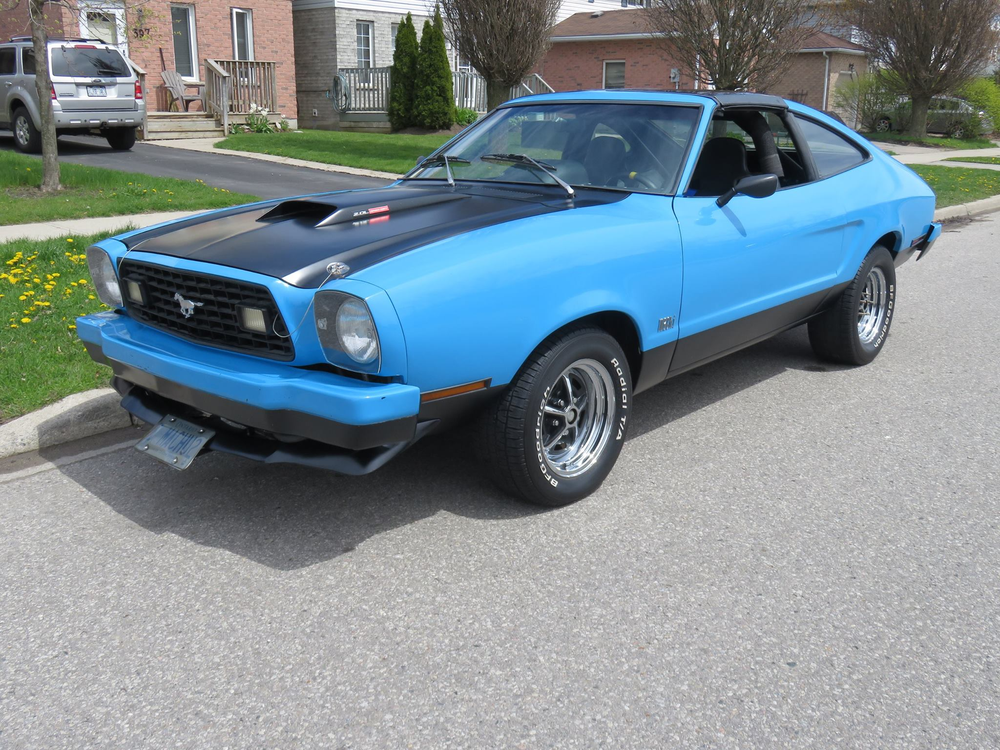1978 mustang with a nissan turbo inline four engine swap depot rh engineswapdepot com