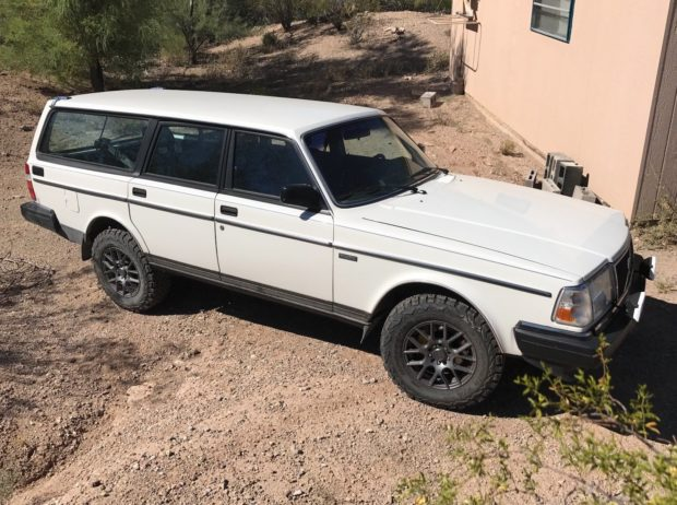 1989 Volvo 240 with a 5.3 L LSx V8