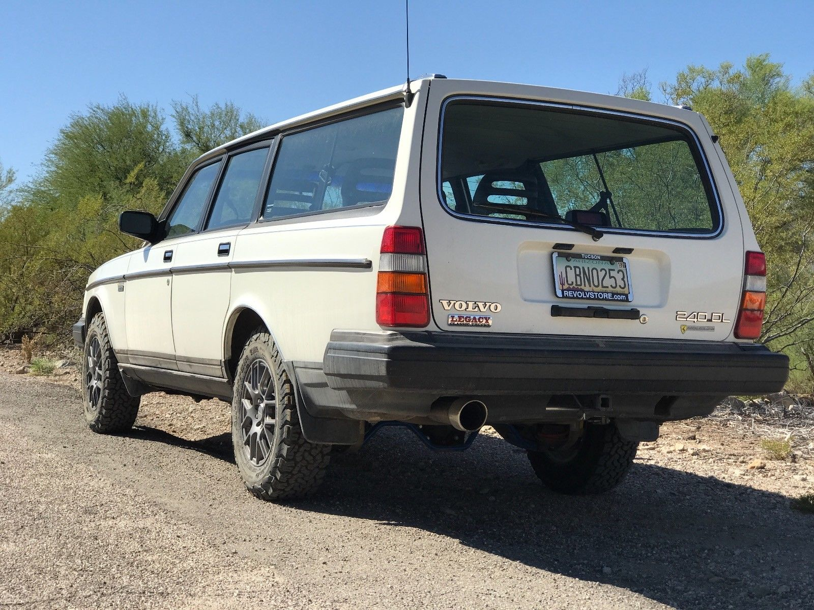 For Sale: 1989 Volvo 240 with a 5.3 L LSx V8 - engineswapdepot.com