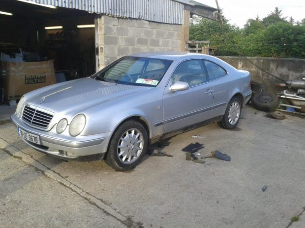 Mercedes CLK with a Twin-Turbo RB20 inline-six