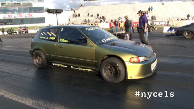 AWD Civic with a Turbo K20 inline-four