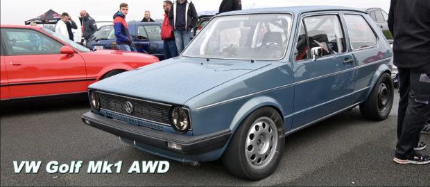 AWD Golf Mk1 with turbo 2.0 L 16v inline-four