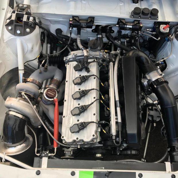Audi Quattro S1 E2 replica with a 2.5 L inline-five