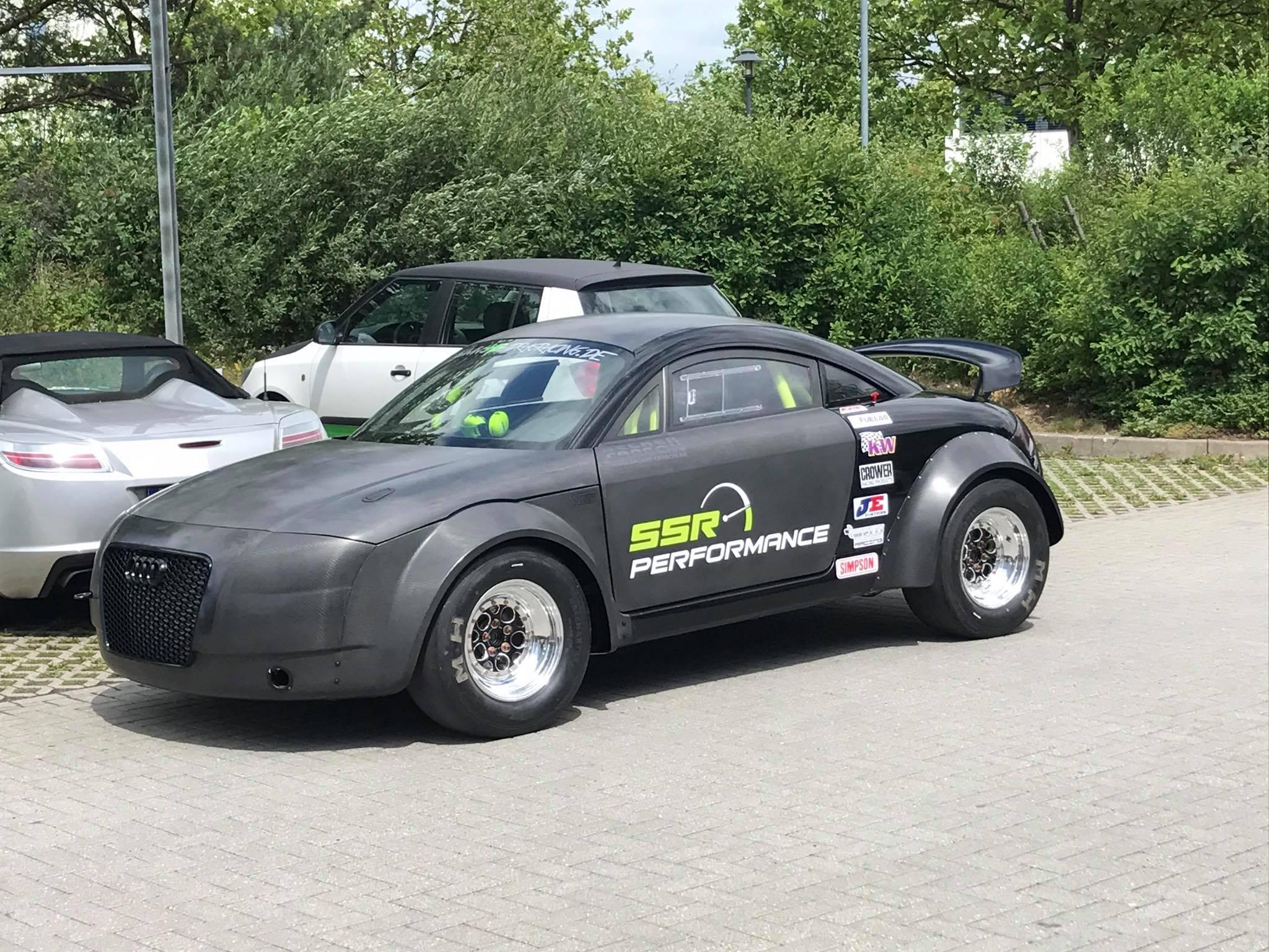 Audi TT with a 1,200 hp VR6 – Engine Swap Depot