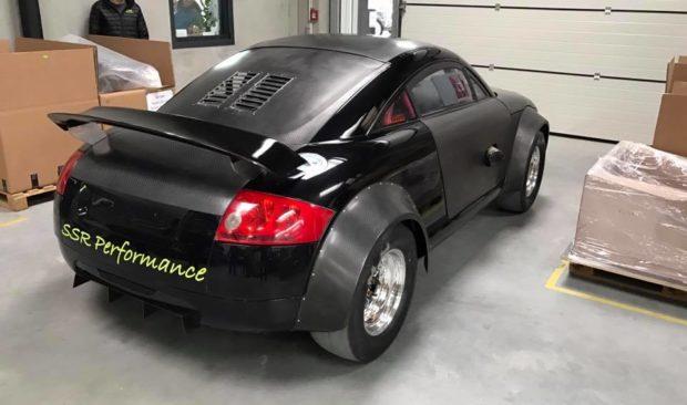 Audi TT with a Turbo 3.0 L VR6