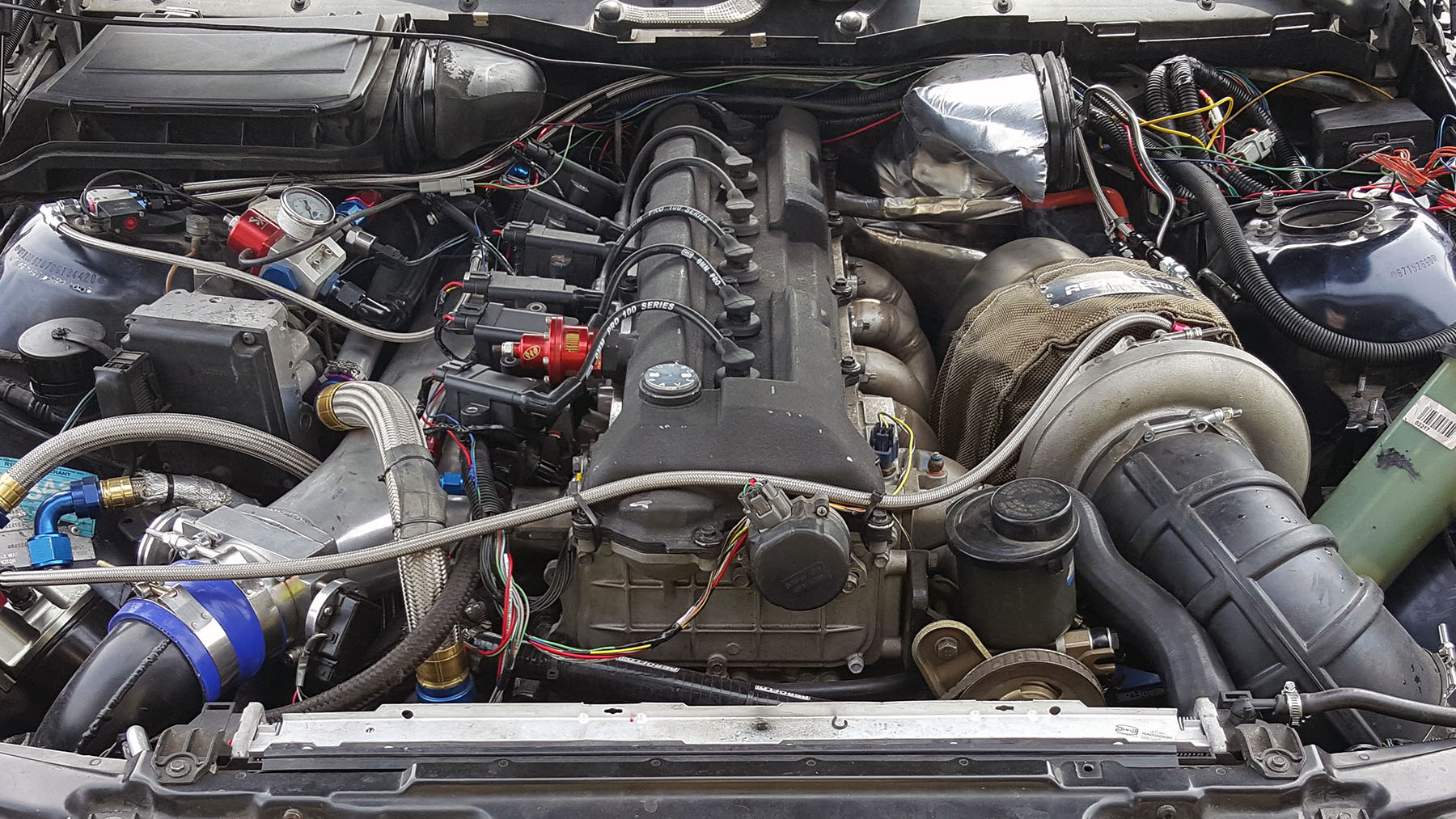 Bmw E39 With A Turbo 4 8 L Inline Six Engine Swap Depot
