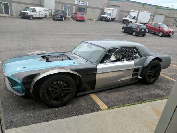 Custom 1967 Mustang with a C5 Corvette Powertrain