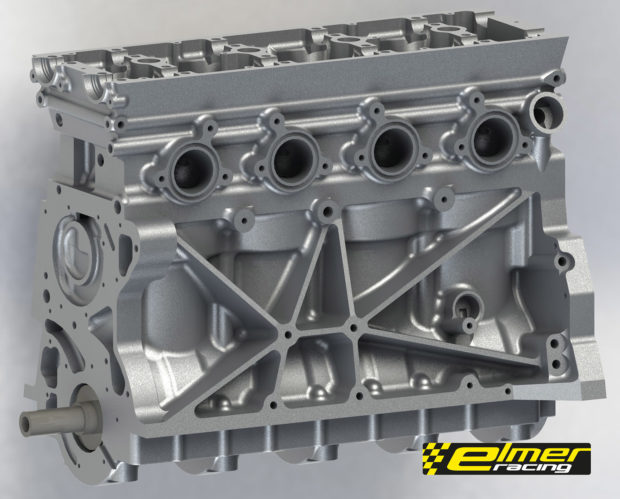 Elmer Racing Thor 4.0 L inline-four