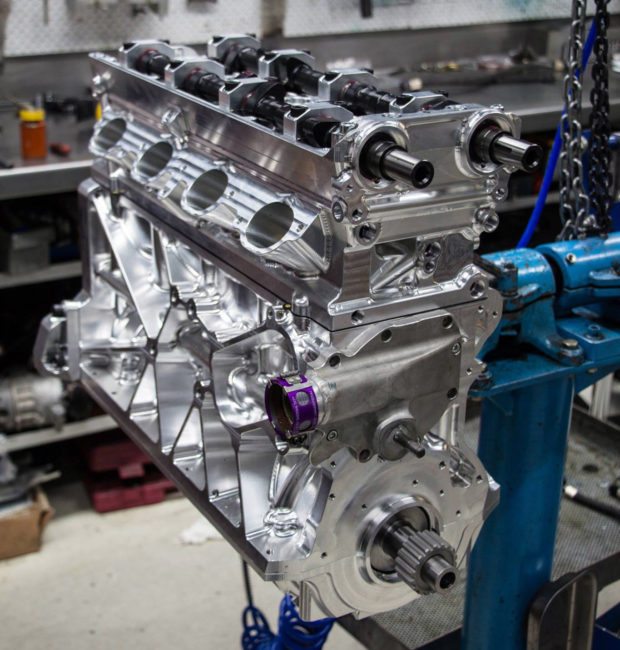 Thor Is A Billet 4 0 L Inline Four Capable Of 1500 Hp