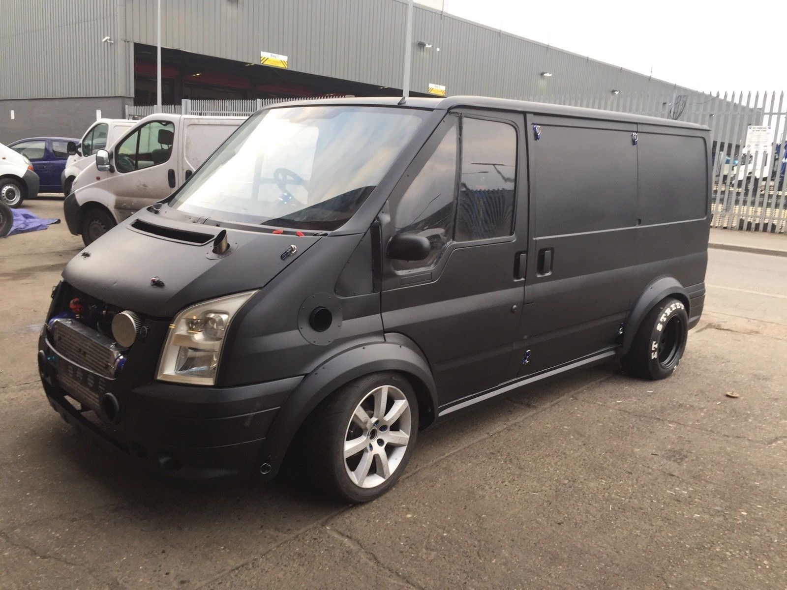 This Unique Ford Transit Mk Was Built By Andrius Jonusas In London Uk The Engine Is A Turbocharged Rb  Inline Six That Produces  Horsepower And