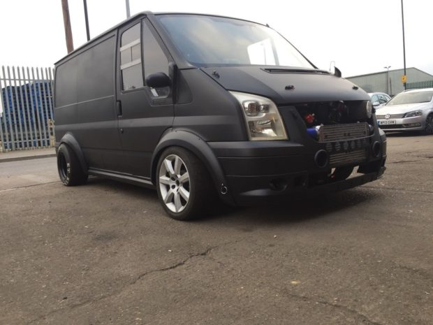 Ford Transit with a Turbo RB26/30 inline-six