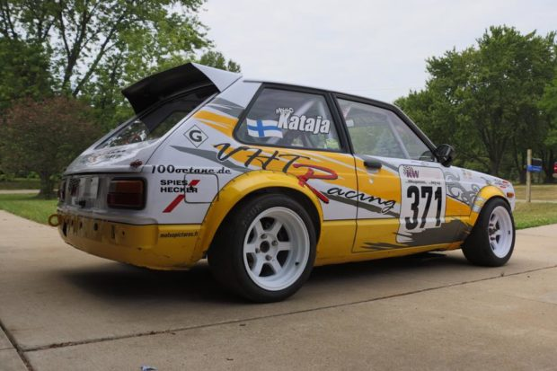 Group F Rally Toyota Starlet with a 4A-GE Inline-Four