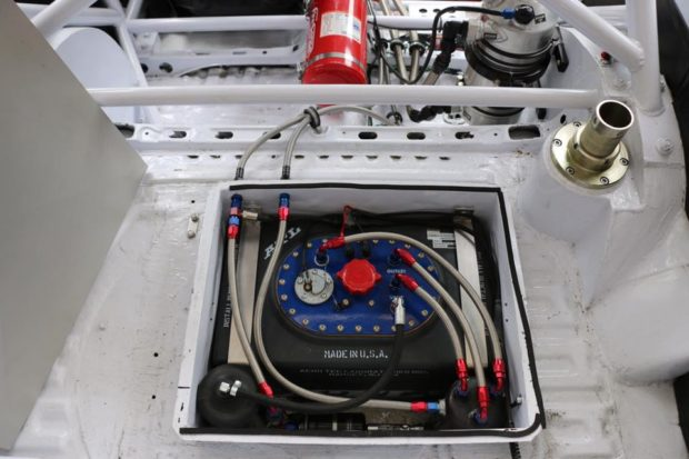 fuel cell on Toyota Starlet built for Finland Group F rally racing