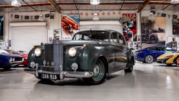 ICON 1958 Rolls-Royce Silver Cloud Derelict with a LS7 V8
