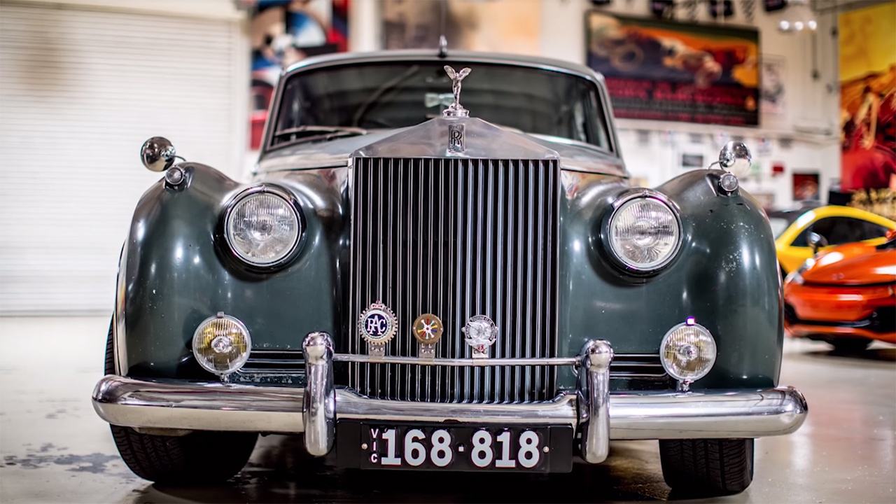 ICON's 1958 Rolls-Royce Silver Cloud Derelict – Engine Swap Depot