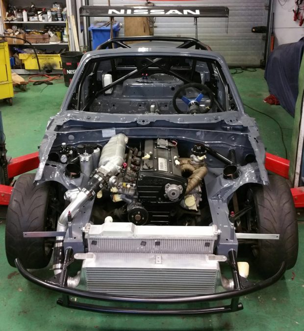 Mazda MX-5 with a RB20DET and R32 Drivetrain